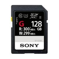 harga SONY SF-G SDXC Memory Card [Read Up to 300MB/S Write Up to 299MB/S C10, U3, UHS-II/ 128 GB] DOSS Blibli.com