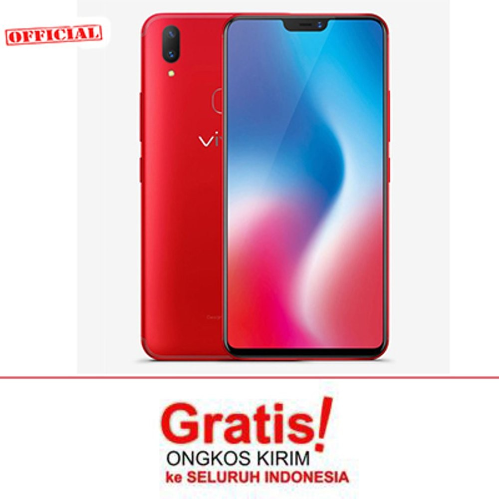 Vivo V9 - Red - Ram 4 - 64Gb