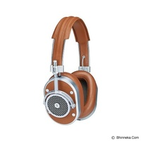 harga MASTER & DYNAMIC Over Ear Headphone [MH 40] - Silver Bhinneka.Com