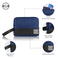 harga Tas Pouch Pria Polyester The X Woof Vpouch 1.0 Blue Tokopedia.com