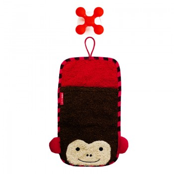 Image SkipHop Zoo Mitt Monkey With Hook 1