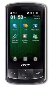 Image Acer beTouch E200 1